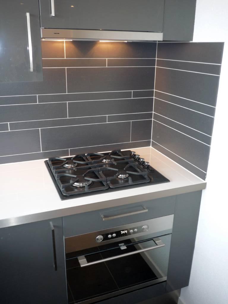 Keuken vloer ontwerp - Lichtgrijze gang ...